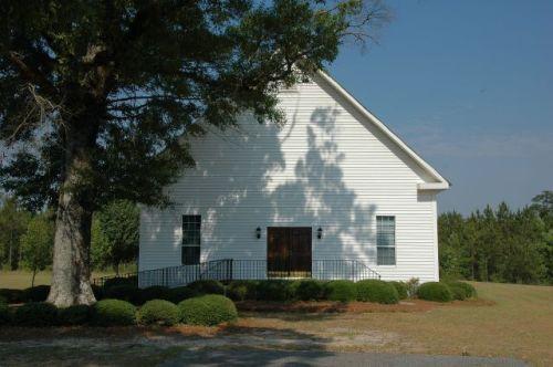 historic union primitive baptist church coffee county ga phoitograph copyright brian brown vanishing south georgia usa 2009