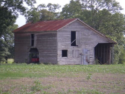 irwinville farms barn irwin county ga photograph copyright brian brown vanishing south georgia usa 2008