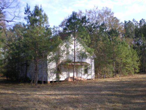New Valley Grove Baptist Church Irwin County GA Photograph Copyright Brian Brown Vanishing South Georgia USA 2008