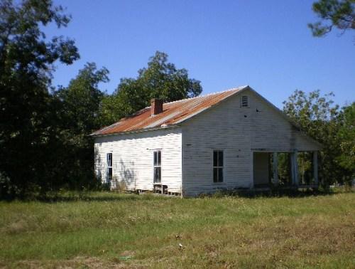 Owensboro GA Wilcox County E D Brown Farmhouse Photograph Copyright Brian Brown Vanishing South Georgia USA 2008