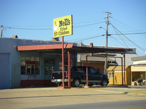nells fried chicken rochelle ga photograph copyright brian brown vanishing south georgia usa 2008
