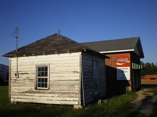 Coverdale GA Turner County Photograph Copyright Brian Brown Vanishing South Georgia USA 2008