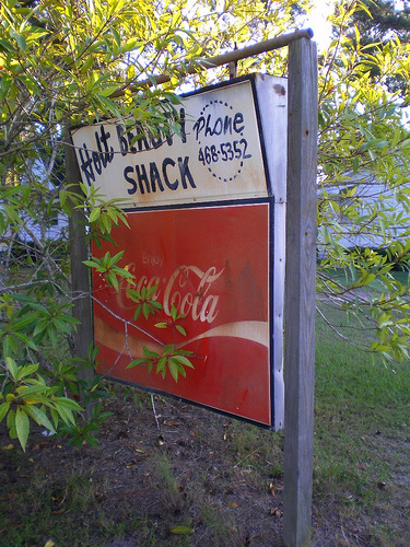 holt ga irwin county beauty shack coca cola sign photograph copyright brian brown vanishing south georgia usa 2008