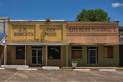 byromville ga historic storefronts photograph copyright brian brown vanishing south georgia usa 2016
