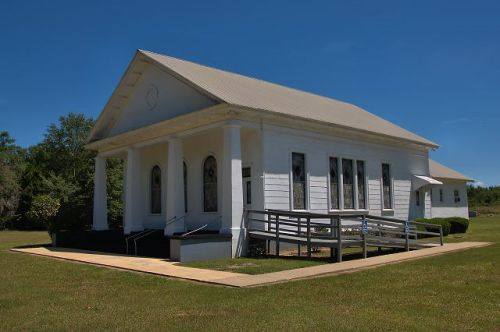 historic lilly baptist church dooly county ga photograph copyright brian brown vanishing south georgia usa 2016