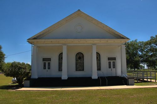 lilly ga historic baptist church photograph copyright brian brown vanishing south georgia usa 2016