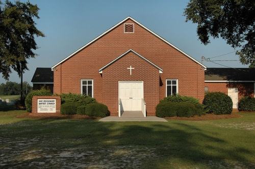 arp missionary baptist church irwin county ga photograph copyright brian brown vanishing south georgia usa 2009