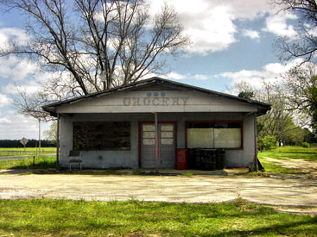 sunsweet grocery tift county ga photograph copyright brian brown vanishing south georgia usa 2009