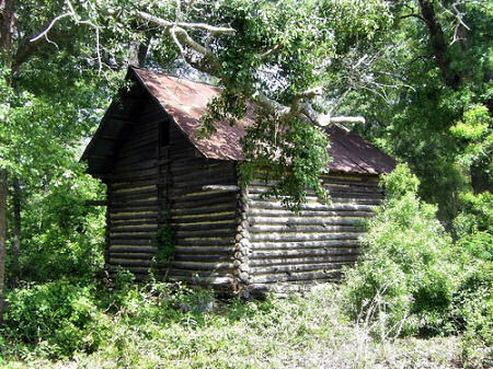 Vernacular Architecture on Berrien County Ga Log Corn Crib Primitive Vernacular Architecture