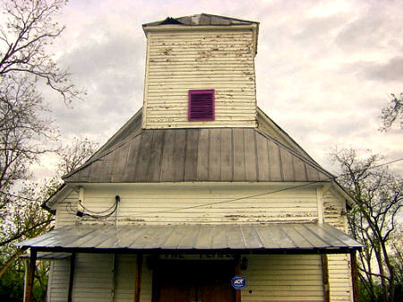 Vernacular Architecture on East Oconee Street African American Vernacular Church Architecture