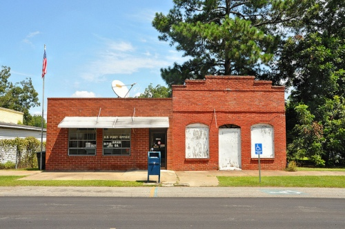 arabi-ga-post-office-photograph-copyright-brian-brown-vanishing-south-georgia-usa-2009