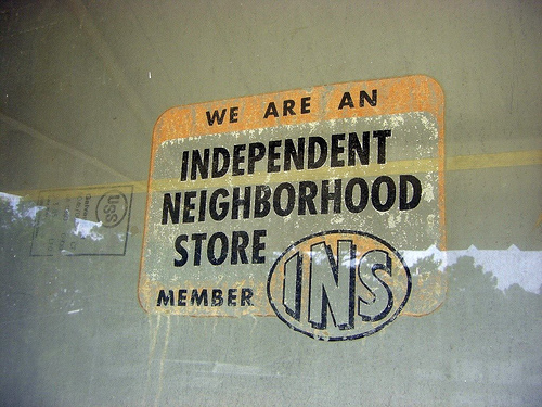 byromville ga josey grocery independent neighborhood store decal photograph copyright brian brown vanishing south georgia usa 2009