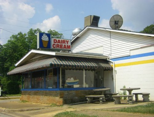 dairy cream richland ga photograph copyright brian brown vanishing south georgia usa 2009