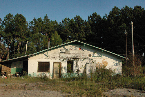 greenough grocery mitvhell county photograph copyright brian brown vanishing south georgia usa 2009