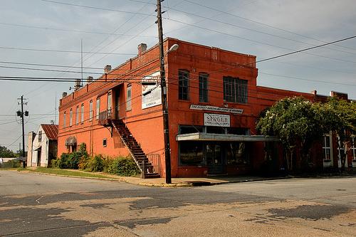 lumpkin ga oldest hardware store in state photograph copyright brian brown vanishing south georgia usa 2009