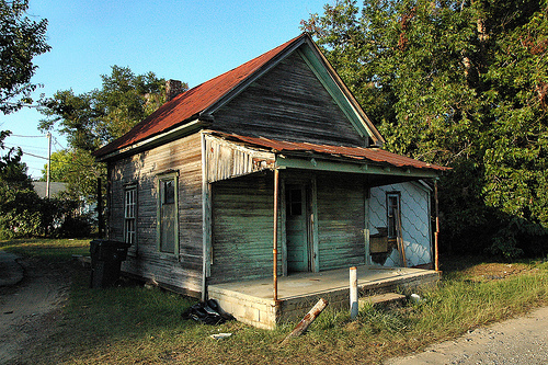 Shotgun houses vanishing south georgia photographs by brian brown