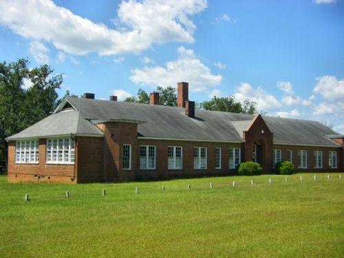 dixie school brooks county ga photograph copyright brian brown vanishing south georgia usa 2009