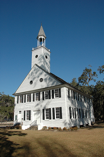 historic midway church-liberty-county-ga-photograph-copyright-brian-brown-vanishing-south-georgia-usa-2009