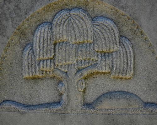 jones creek baptist church cemetery long county ga gravestone iconography willow photogrpah copyright brian brown vanishing south georgia usa 2009