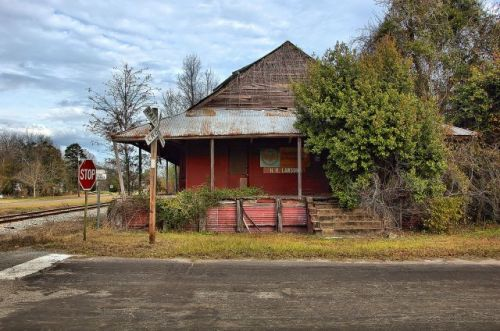 morven ga endangered southern railway depot photograph copyright brian brown vanishing south georgia usa 2016