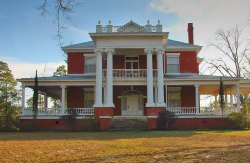 m d norman house norman park ga photograph copyright brian brown vanishing south georgia usa 2016