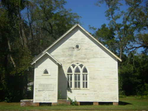 Vanishing South Georgia Waycross Ware County GA Gothic Vernacular Church African American Primitive New York Headquarters Photo Picture Image Copyright Brian Brown