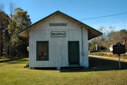 bellville-ga-evans-county-depot-southern-express-savannah-western-photograph-photo-picture-image-copyright-brian-brown-vanishing-south-georgia-ghost-town-rural-southern-americana