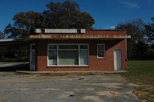 Danville GA Twiggs County Sidney Browns Store Photograph Copyright Brian Brown Vanishing South Georgia USA 2014