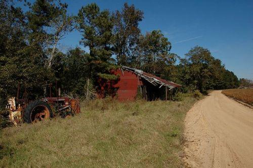 evans county ga willis sikes road photograph copyright brian brown vanishing south georgia usa 2009