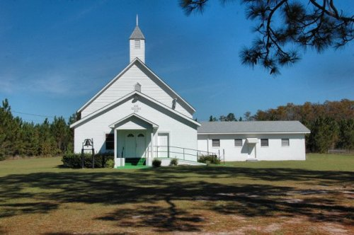 historic st thomas missionary baptist church long county ga photograph copyright brian brown vanishin south georgia usa 2009