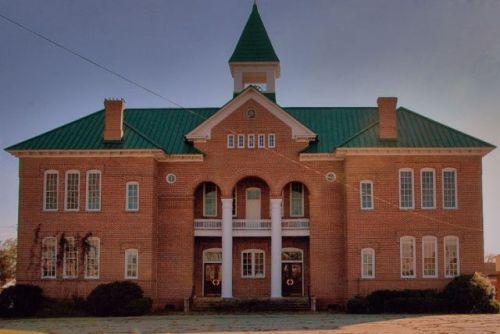 old south georgia college administration building mcrae ga photograph copyright brian brown vansihing south georgia usa 2009