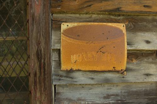 clyo ga country store honey bee snuff sign photograph copyright brian brown vanishing south georgia usa 2014
