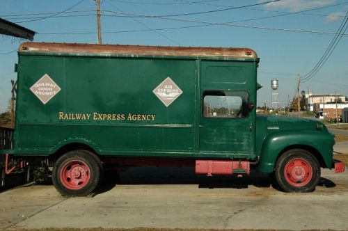 helena ga railway express agency truck photograph copyright brian brown vanishing south georgia usa 2009