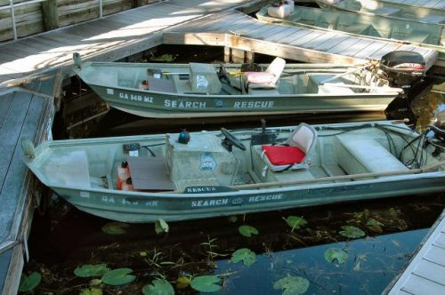 okefenokee swamp ga dnr search rescue boats photograph copyright brian brown vanishing south georgia usa 2009