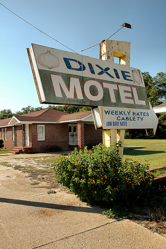 reidsville ga dixie motel photograph copyright brian brown vanishing south georgia usa 2009