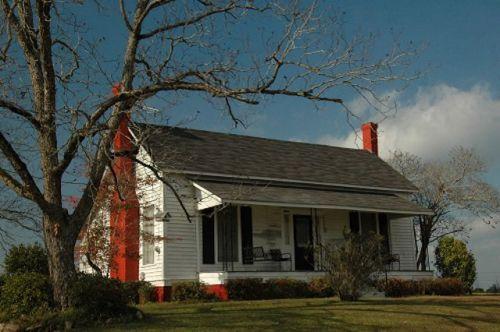 wheeler county ga double pen farmhouse photograph copyright brian brown vanishing south georgia usa 2009