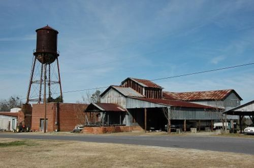 chauncey ga r b kelly cotton gin photograph copyright brian brown vanishing south georgia usa 2010