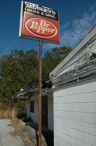 ludowici ga mobleys meats old davis store photograph copyright-brian-brown-vanishing-south-georgia usa 2010