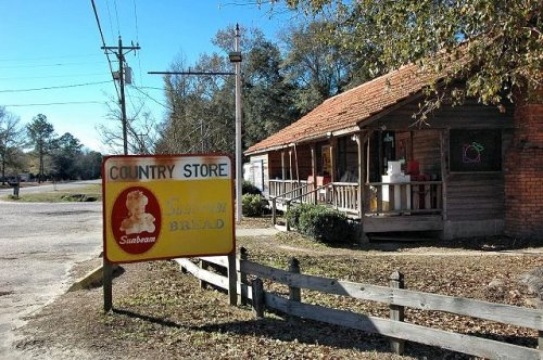 rye patch country store long county ga photograph copyright brian brown vanishing south georgia usa 2010
