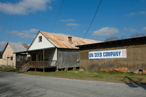 boston seed company offices warehouse photograph copyright brian brown vanishing south georgia usa 2010