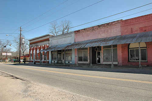 bronwood ga lost historic storefronts photograph copyright brian brown vanishing south georgia usa 2010