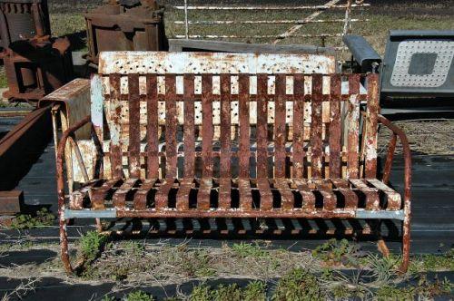 dupont ga junk store porch glider photograph copyright brian brown vanishing south georgia usa 2010