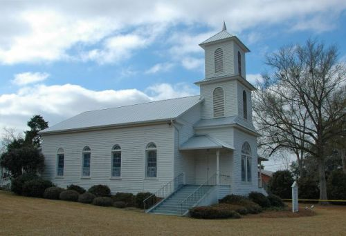 historic boston presbyterian church thomas county ga photograph copyright brian brown vanishing south georgia usa 2010