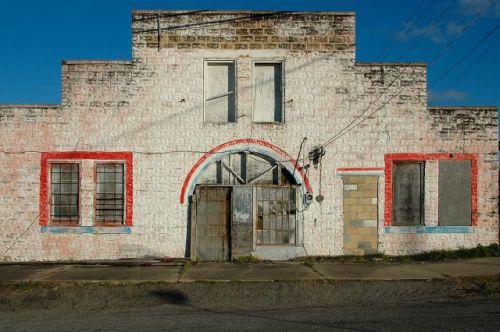 mcrae ga granitoid front warehouse photograph copyright brian brown vanishing south georgia usa 2010
