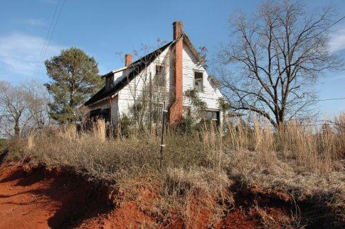 miller farmhouse terrell county ga photograph copyright brian brown vanishing south georgia usa 2010