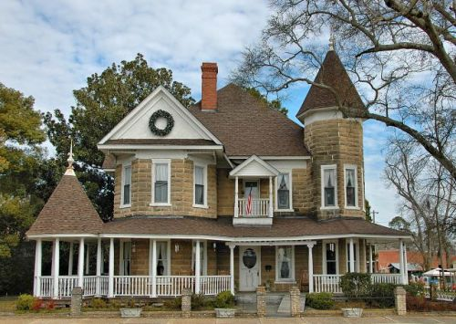 nashville ga historic carter clark house photograph copyright brian brown vanishing south georgia usa 2010