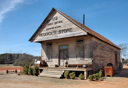 reddicks store benevolence ga relocated to cuthbert photograph copyright brian brown vanishing south georgia usa 2010