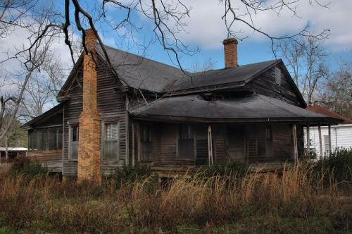 reno ga abandoned house photograph copyright brian brown vanishing south georgia usa 2010