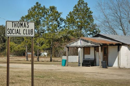thomas social club lee county ga photograph copyright brian brown vanishing south georgia usa 2010