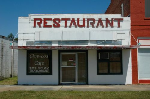 glenwood ga restaurant photograph copyright brian brown vanishing south georgia usa 2010